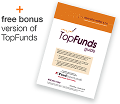 Bonus - latest edition of TopFunds Guide FREE when you register to receive our newsletter